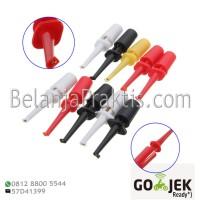 Multimeter Lead Wire Kit Test Probe Hook Clip 10pcs