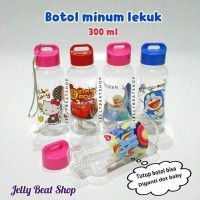 Botol minum lekuk susu dot hello kitty cars frozen doraemon pony