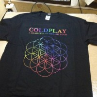 Kaos Coldplay A Head Full Of Dreams Asian Tour - CLD60