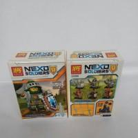 Lego Lele Nexo Soldiers Action figures
