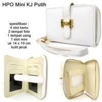dompet wanita hpo heermes mini kulit jeruk putih Murah