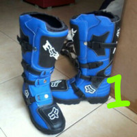 Best Deal (1) Sepatu Drag Race Balap Cross Boot Motor Fox Mx Touring A