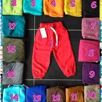 Celana Anak Jogger Jogger Pants Anak Size 2 Terlaris