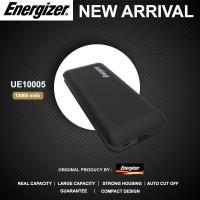 Powerbank Energizer UE10005 Original 10.000 MAh REAL CAPACITY - Hitam