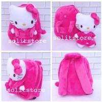 Tas Anak Backpack Ransel Boneka Hello Kitty Import Size M