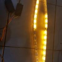 lampu alis berjalan led kristal
