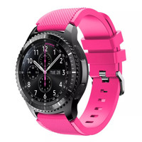 Samsung Gear S3 Frontier / classic strap / band / tali jam pink