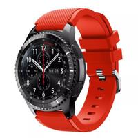 Samsung Gear S3 Frontier / Classic strap / band / tali jam merah