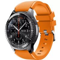 Samsung Gear S3 Frontier / classic strap / tali jam orange