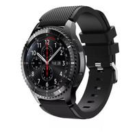 Samsung Gear S3 Frontier / Classic strap / band / tali jam hitam