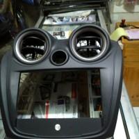 Frame Panel Head Unit Double Din Datsun Go Panca / Plus