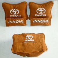 Aksesoris mobil Toyota Innova ( Headrest, sandaran jok, Bantal mobil )