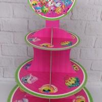 cupcake stand shopkins / cupcake tier shopkins 3 tier