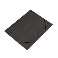Bantex Cardboard Document File A4 Black #3450 10
