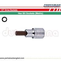"""KUNCI L SOCK 6mm - 1/2\"""" DRIVE HEX BIT SOCKET / CROSSMAN USA"""