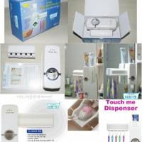 Tempat Dispenser Odol dan Tempat Sikat Gigi / Toothpaste and Brush Set