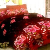 Sprei Lady Rose Disperse 160 - Rose Leopard
