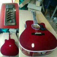 gitar akustik elektrik yamaha