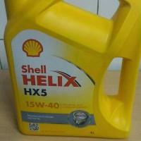 Oli Mobil Shell Helix Hx5 SAE 15w40 Kemasan Galon