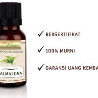 Happy Green Palmarosa Essential Oil (10ml) - Bahan Dasar Toner Kulit