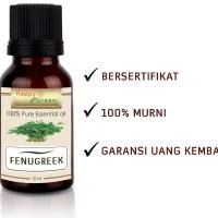 Happy Green Fenugreek Essential Oil (10 ml) - Minyak Fenugreek Murni