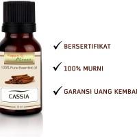 Happy Green Cassia Essential Oil (10 ml) - Minyak Kayu Manis Cina 100%