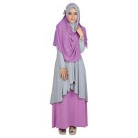 Pakaian Muslim Wanita + Kerudung Raindoz RNK 026
