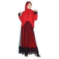 Pakaian Muslim Wanita + Kerudung Raindoz ROK 028