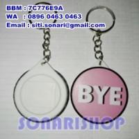 gantungan kunci ganci pin 44 mm custom souvenir kado hadiah cendramata