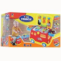 Terlaris Mainan Kado Mainan Anak Cowok Mobil Alat Tekhnik Tukang 2IN1
