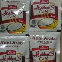 Habbats Cafe 5 in 1 - Kopi Arab tanpa Coffein ( Jinten Hitam + Madu )