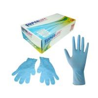 Sarung Tangan Nitrile Gloves Skyblue box isi 100pcs