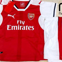 Setelan / Stelan Baju Jersey Bola Kids / Anak-anak Grade Ori Arsenal
