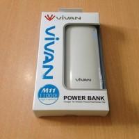 Vivan Power Bank M11 11000mAh White Original