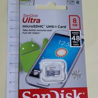 SanDisk Ultra microSDHC Card UHS-I Class 10 (48MB/s) 8GB Original