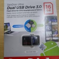 SanDisk 16GB Ultra Dual USB Drive 3.0