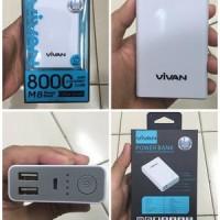 VIVAN Power Bank 8000 mAh - M8 Original