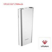 Powerbank Vivan M17 17000mAh Original Portable Charger PB M 17000 mA