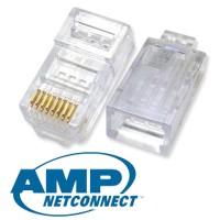 AMP Connector Rj45 Cat5e Original