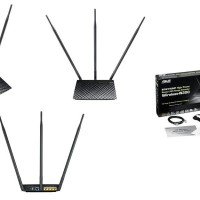 Asus RT-N14UHP High Power Wireless-N300 3-in-1 Router/AP/Range Exten