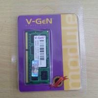 V-GEN DDR3 SODIM 2GB PC 10600/PC 12800