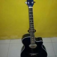 Gitar akustik elektrik yamaha apx500 bonus tas