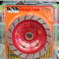 "DIAMOND WHEEL CUP TURBO 4"" KNK"