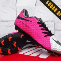 Sepatu Bola/Sepatu Olahraga Nike Hypervenom III Silver Pink KW Super