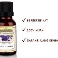 Happy Green ORGANIC Lavender Essential Oil (10ml) - Minyak Lavender