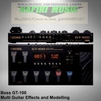 Efek Gitar Boss GT-100 / Boss GT 100 / Boss GT100 baru harga murah!