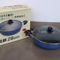 Panci Teflon Korea 28cm untuk Shabu-shabu, Sukiyaki, Rebus-rebus