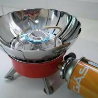 Kompor Camping Mini Portable / Windproof camping stove / anti angin