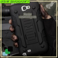 Samsung Galaxy Note 2 N7100 - Future Armor Hardcase Belt Holster