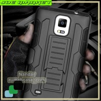 Samsung Galaxy Note 4 - Future Armor Hardcase With Belt Clip Holster